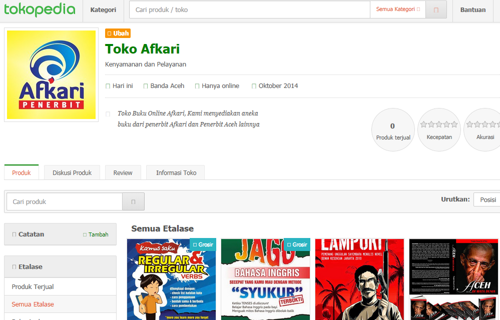 Photo of Berjualan Gratis di Tokopedia