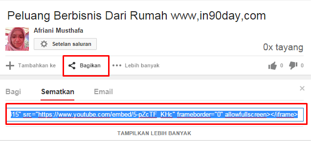 Photo of Cara Mudah Pasang Video Youtube Di WordPress