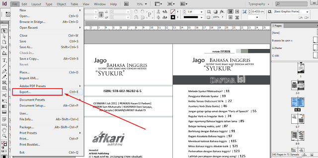 Photo of Cara Membuat File JPEG di InDesign