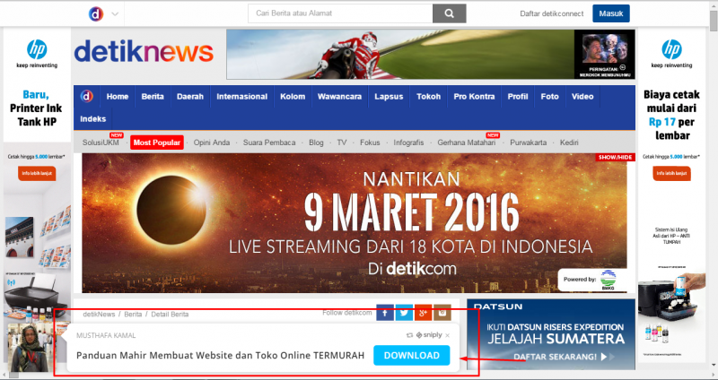 Photo of Cara Promosi GRATIS di Website-Website Besar