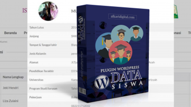 Photo of WordPress Plugin Untuk Data Siswa, Guru dan Alumni