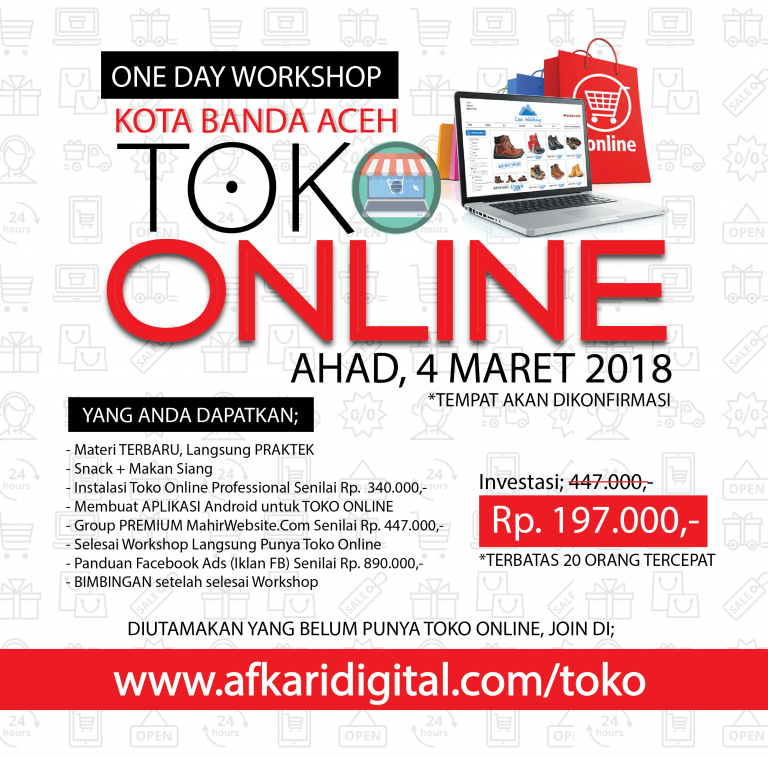 Workshop Toko Online