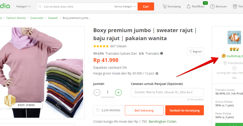 Tips Dan Tutorial Cara Mencari Supplier di Tokopedia2